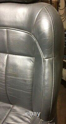 02-04 Jeep Grand Cherokee WJ Dark Slate XLDV seat leather, steering wheel, etc