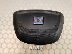 09-12 Seat Ibiza mk4 6J Steering Wheel Air Bag 6J0880201K