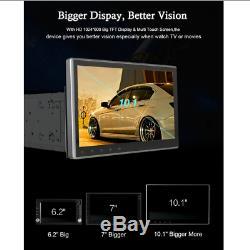 10.1 1080P Car Stereo Radio GPS Wifi DVD 4G BT DAB DTV Steering Wheel Control