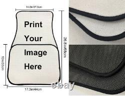 10 Pack Tie-Dye Car Accessories Seat Covers+Floor Mats+Steering Wheel Cover