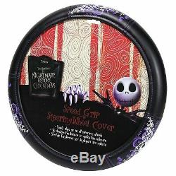 11pc Nightmare Before Christmas Car Floor Mats Seat Covers Steering Wheel Cover