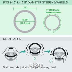 11pc Sanrio Hello Kitty Core Car Floor Mats Steering Wheel Cover Seat Covers Set