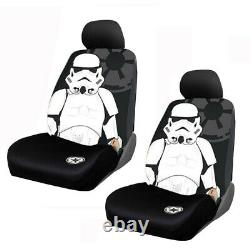 11pc Star Wars Stormtrooper Car Truck Seat Covers Floor Mat Steering Wheel Cover