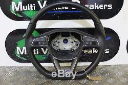 13-2017 Seat Leon Fr Steering Wheel With Multifunction 5f0419091m