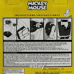 13PC Disney Mickey Mouse Car Truck Floor Mats Seat Covers & Steering Wheel Cover