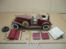 1930 Pierce Arrow Hand Made incl. Wooden Steering Box Seats Wheels Project