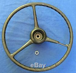 1939 -1947 Dodge Truck Powerwagon Vintage 18 Oem Steering Wheel Mopar 1195035
