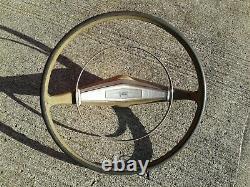 1958 Chevrolet Belair Delray Biscayne Wagon Steering Wheel Chevy 350 Hot Rat Rod