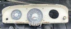 1961-1966 Vintage Ford Truck Gauges Air Pressure Speedometer Cluster Bronco