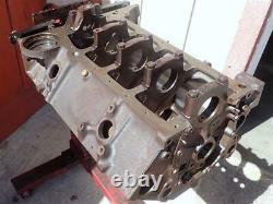 1962 327 Engine Block 3782870 Small Block Chevy Corvette RD Code 300HP STD Bore