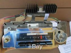 1963 Chevrolet AM FM Radio Factory Delco Fully Serviced 1964 Works Great VIDEO