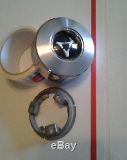 1964-66 Mopar Woodgrain Steering Wheel Horn Cap & Retainer Dart Coronet #1