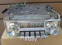 1964 Ford Galaxie Factory AM FM Radio F4TBF Complete Serviced Works Great VIDEO