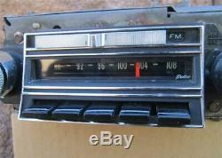 1965 Chevrolet Factory Delco AM FM Radio 986101 Impala Caprice Biscayne WORKING