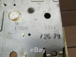 1967-1968 AMC AM FM Radio Ambassador Rebel Marlin F8SMR OEM Option WORKS VIDEO