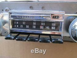 1967 Olds Cutlass 442 Factory AM FM Radio Delco 7300113 Works Great TEST VIDEO