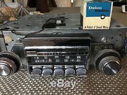 1967 OldsMobile 88 Cutlass 442 Factory AM FM Wonderbar am fm Radio Refurbished