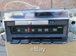 1968 Chevelle Factory AM FM Radio Delco 7303121 OEM El Camino Working TEST VIDEO