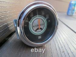 1968 Shelby Mustang Stewart Warner Alternator Gauge 815855 REAL DEAL OEM Amperes