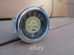 1968 Shelby Mustang Stewart Warner Oil Pressure Gauge 813708 Lamp Socket REAL