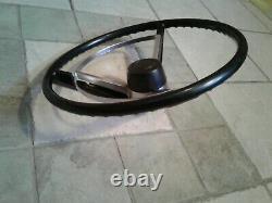 1968 Steering Wheel B & A Body Coronet RoadRunner Charger Superbee Dart GT BLACK