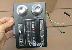 1969-1970 AMC AM FM Radio Ambassador Rebel Machine F9SMR OEM Option WORKS VIDEO