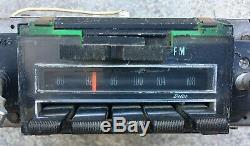 1969 Chevy Factory Delco AM FM Radio Camaro Chevelle Impala Nova SS Z28 396 302