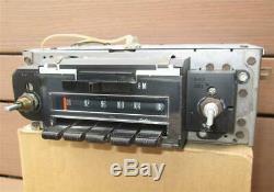 1969 Chevy Factory Delco AM FM Radio Camaro Chevelle Impala Nova Working VIDEO