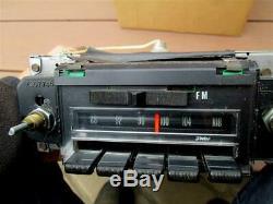 1970-1972 Chevrolet AM FM Radio Factory Delco Camaro Chevelle Nova Impala WORKS