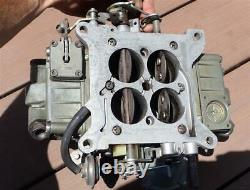1970 Chevy Holley Carb List 4557 LS6 454 L78 396 4 Speed Camaro Chevelle Nova SS