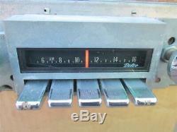 1970 Pontiac AM FM Radio Factory Delco with Knobs GTO Firebird Working Test Video