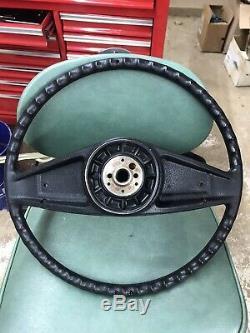 1973-87 Chevy Silverado Sierra Blazer Steering Wheel Nice Woodgrain Trim