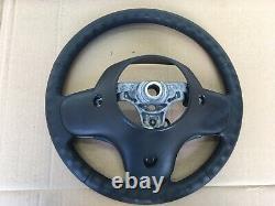 1996-1998 Jeep Grand Cherokee ZJ Steering Wheel Black Leather OEM