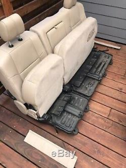 1999-2010 Ford F250 F350 F450 F550 Lariat Leather Interior SEATS NO SHIPPING