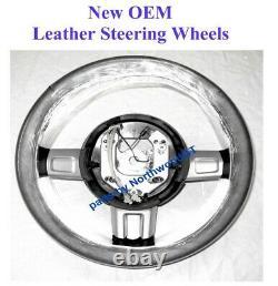 2005,2006 Ford Gt Gt40 Leather Steering Wheel 4g7z-3600-aaa Below Cost 05/06