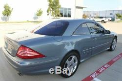 2005 CL-Class CL 500 COUPE VENT SEATS WOOD STEERING 18 AMG WHLS