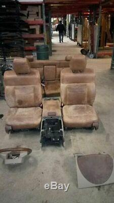 2008 F150 King Ranch Interior Package Seats Console Steering Wheel 4993823