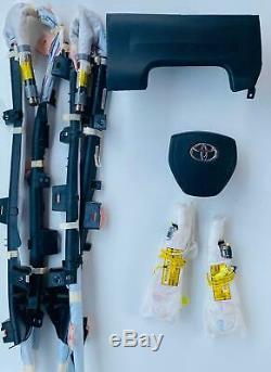 2014 2015 2016 Toyota Corolla Steering Wheel, Knee, Roof, Seat Left & Right Airbag