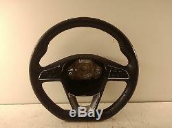 2014 SEAT LEON 3 Spoke Multifunction Steering Wheel 447