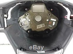 2014 SEAT LEON FR 3 Spoke Leather Multifunction DSG Paddle Steering Wheel 454