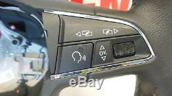 2014 SEAT LEON Multifunctional 3 Spoke Steering Wheel