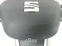 2015 SEAT IBIZA FR Multifunctional Black Leather Steering Wheel + Paddle Shift