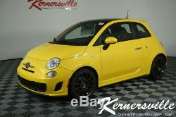 2016 Fiat 500 Abarth FWD Hatchback Sunroof Heated Seats Manual Steering Wheel