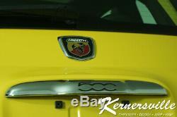 2016 Fiat 500 Abarth FWD Hatchback Sunroof Heated Seats Manual Steering Wheel