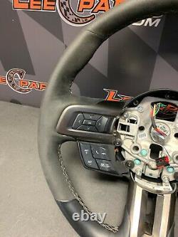 2016 Ford Mustang Gt350 Oem Suede Steering Wheel