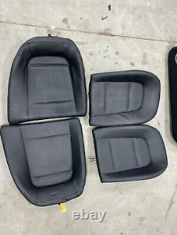 2016 Nissan GT-R GTR R35 Complete Black Interior Seats Door Panels SteeringWheel