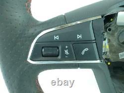 2017 SEAT LEON FR 3 Spoke Multifunction Steering Wheel 5F0419091R