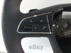 2017 SEAT LEON FR Mk3 (5F) 3 Spoke Multifunction Steering Wheel 5F0419091S
