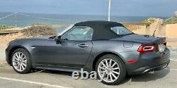 2018 Fiat 124 Spider Lusso, leather seats and steering wheel