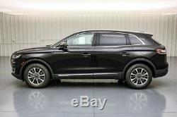 2019 Lincoln Nautilus Select AWD SUV Climate Pkg Moonroof MSRP $50520